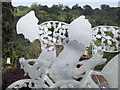 TQ1750 : Cycle Race Sculpture, Dorking by Colin Smith