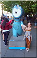 TQ3380 : Maritime Wenlock on Thames Embankment by PAUL FARMER