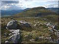 NN4981 : Boulders and outcrops, west side of Geal Charn by Karl and Ali