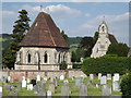 TQ1749 : Dorking Cemetery by Colin Smith