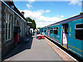 SO0561 : Llandrindod Wells station by Dr Neil Clifton
