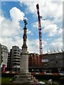 SJ8397 : St Peter's Cross, St Peter's Square by Gerald England