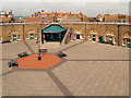 TV6299 : Parade ground, Eastbourne Redoubt by David Dixon