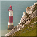 TV5895 : Beachy Head Lighthouse by David Dixon