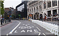TQ3380 : I had to see these 'Olympic Lanes' by Sebastian Ballard
