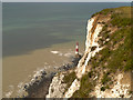 TV5895 : Beachy Head Cliff and Lighthouse by David Dixon