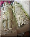 SO6645 : William and Anne Unett, memorial tomb, Castle Frome church by Julian P Guffogg