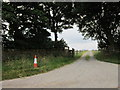 SK2784 : The entrance to Brown Edge Farm by Ian S