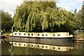 TQ1683 : Narrowboat at Perivale by Richard Croft