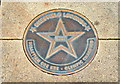 Photo of Sebastian Coe bronze plaque