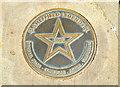 Photo of Michael Palin bronze plaque