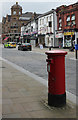 SD7109 : Churchgate postbox (ref. BL1 3)  by Alan Murray-Rust