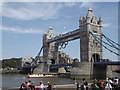 "TQ3380 : ""Spirit of Chartwell"" at Tower Bridge by Colin Smith"