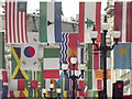 TQ2980 : Flags of the World by Colin Smith