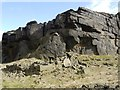 SE0310 : Pule Hill Quarry, Marsden by LDBrown