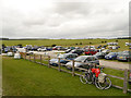 SU1242 : The Visitors' Car Park at Stonehenge by David Dixon