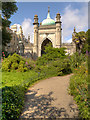 TQ3104 : Entrance to Royal Pavilion Gardens by David Dixon