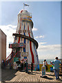 TQ3103 : Brighton Pier, Helter Skelter by David Dixon