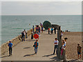 TQ3103 : Jetty, Brighton Seafront by David Dixon