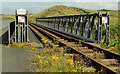 C9342 : Railway bridge near Portballintrae by Albert Bridge