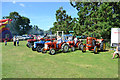 SJ2111 : Tractor display at Guilsfield Show by John Firth
