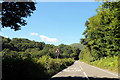 SH8713 : A458 west of Cwm-Cewydd by John Firth