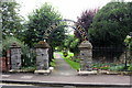 SO8832 : Entrance to the Victoria Gardens by Philip Jeffrey