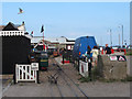 TQ8209 : Hastings Miniature Railway - Rock-a-Nore station by Stephen Craven