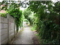 SE3511 : A path at Haigh Croft, Royston by Ian S