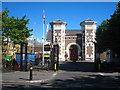 TQ2281 : The entrance to HM Prison Wormwood Scrubs by Rod Allday