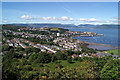 NS2577 : Gourock from Lyle Road by Thomas Nugent