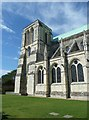 SU8504 : Chichester Cathedral - baptistry tower by Rob Farrow