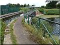 TF5302 : Aqueduct and footpath near Upwell by Richard Humphrey