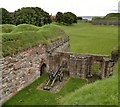 NT9953 : Ramparts of Berwick by Chris Morgan