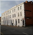 SO5139 : Row of 3-storey houses, St Ethelbert Street, Hereford by John Grayson
