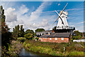 TQ9120 : Rye Windmill by Ian Capper