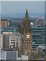 SJ8398 : Manchester Town Hall Clock by David Dixon
