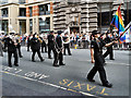 SJ8398 : Greater Manchester Police Band, Manchester Pride by David Dixon