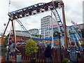 TQ3080 : Cyclone Rollercoaster at Priceless London Wonderground at Southbank Centre by PAUL FARMER