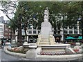TQ2980 : William Shakespeare statue - Leicester Square by Paul Gillett