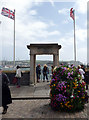 SX4853 : Flags Flying, Plymouth Harbour, Devon by Christine Matthews