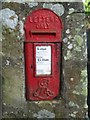 NU1714 : Edwardian Post Box near Abbeylands by Graham Robson