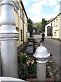 J1811 : Lana Na hAbhann, Lon yr Afon, River Lane, Carlingford by Eric Jones