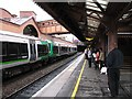 SP0786 : Birmingham Moor Street: waiting for the 10.15 by John Sutton