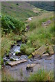 SE0600 : Ford over one of Crowden Brook's tributaries by Neil Theasby