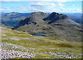 NG9650 : Southeast slope of Sgorr Ruadh by John Allan
