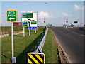 SP2662 : New junction of B4463 and A46 near Sherbourne by John Brightley