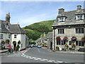 SY9682 : Main road through Corfe Castle by Malc McDonald