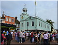 TR0161 : The Guildhall, Faversham, during the Hop Festival by pam fray