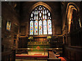 SJ5882 : Chancel of All Saints church, Daresbury by Stephen Craven